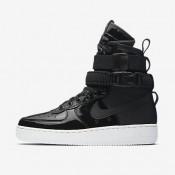 Nike ΓΥΝΑΙΚΕΙΑ ΠΑΠΟΥΤΣΙΑ LIFESTYLE sf air force 1 μαύρο/reflect silver/cool grey/μαύρο_AJ0963-001