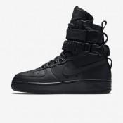 Nike ΓΥΝΑΙΚΕΙΑ ΠΑΠΟΥΤΣΙΑ LIFESTYLE sf air force 1 μαύρο/μαύρο/μαύρο_857872-002