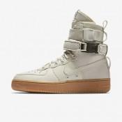 Nike ΓΥΝΑΙΚΕΙΑ ΠΑΠΟΥΤΣΙΑ LIFESTYLE sf air force 1 light bone/gum medium brown/light bone_857872-004