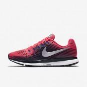 Nike ΓΥΝΑΙΚΕΙΑ ΠΑΠΟΥΤΣΙΑ ΓΙΑ ΤΡΕΞΙΜΟ air zoom pegasus 34 solar red/μαύρο/persian violet/metallic silver_880560-604