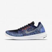Nike ΓΥΝΑΙΚΕΙΑ ΠΑΠΟΥΤΣΙΑ ΓΙΑ ΤΡΕΞΙΜΟ free rn flyknit 2017 μαύρο/persian violet/aurora/metallic silver_880844-005