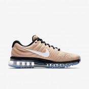 Nike ΑΝΔΡΙΚΑ ΠΑΠΟΥΤΣΙΑ LIFESTYLE air max 2017 bio beige/μαύρο/λευκό_849559-200