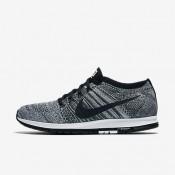 Nike ΑΝΔΡΙΚΑ ΠΑΠΟΥΤΣΙΑ ΓΙΑ ΤΡΕΞΙΜΟ zoom flyknit streak wolf grey/μαύρο/λευκό/μαύρο_835994-003