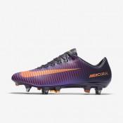 Nike ΑΝΔΡΙΚΑ ΠΟΔΟΣΦΑΙΡΙΚΑ ΠΑΠΟΥΤΣΙΑ mercurial vapor xi purple dynasty/hyper grape/total crimson/bright citrus_831941-585