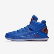 Nike ΑΝΔΡΙΚΑ ΠΑΠΟΥΤΣΙΑ JORDAN air jordan signal blue/metallic silver/team orange_AA1253-400