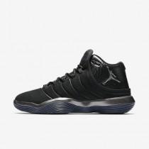 Nike ΑΝΔΡΙΚΑ ΠΑΠΟΥΤΣΙΑ JORDAN jordan super.fly 2017 μαύρο/ανθρακί/chrome_921203-010