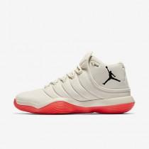 Nike ΑΝΔΡΙΚΑ ΠΑΠΟΥΤΣΙΑ JORDAN jordan super.fly 2017 sail/infrared 23/μαύρο_921203-104