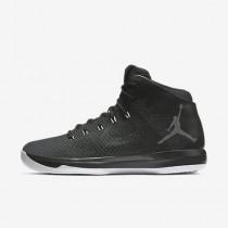 Nike ΑΝΔΡΙΚΑ ΠΑΠΟΥΤΣΙΑ JORDAN air jordan μαύρο/λευκό/ανθρακί_845037-010