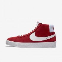Nike ΑΝΔΡΙΚΑ ΠΑΠΟΥΤΣΙΑ SKATEBOARDING sb zoom blazer mid university red/λευκό_864349-611