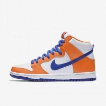 Nike ΑΝΔΡΙΚΑ ΠΑΠΟΥΤΣΙΑ SKATEBOARDING sb dunk pro high safety orange/λευκό/hyper blue_AH0471-841