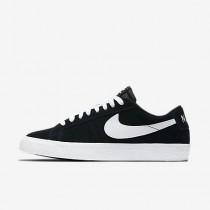 Nike ΑΝΔΡΙΚΑ ΠΑΠΟΥΤΣΙΑ SKATEBOARDING sb blazer low μαύρο/gum light brown/λευκό_864347-019