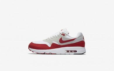 Ανδρικά αθλητικά παπούτσια Nike air max 1 ultra 2.0 men λευκό/neutral grey/μαύρο/university red 908091-001