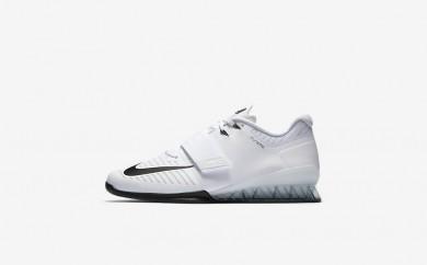 Ανδρικά αθλητικά παπούτσια Nike romaleos 3 men λευκό/volt/μαύρο 852933-006
