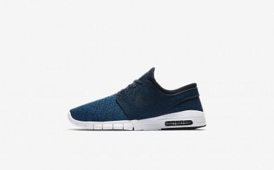 Ανδρικά αθλητικά παπούτσια Nike sb stefan janoski max men industrial blue/photo blue/light armory blue/obsidian 631303-009