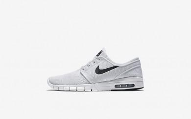 Ανδρικά αθλητικά παπούτσια Nike sb stefan janoski max men λευκό/μαύρο 631303-016