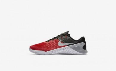Ανδρικά αθλητικά παπούτσια Nike metcon 3 men university red/μαύρο/λευκό/wolf grey 852928-017
