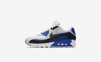 Ανδρικά αθλητικά παπούτσια Nike air max 90 essential men obsidian/pure platinum/racer blue/dark grey 537384-021