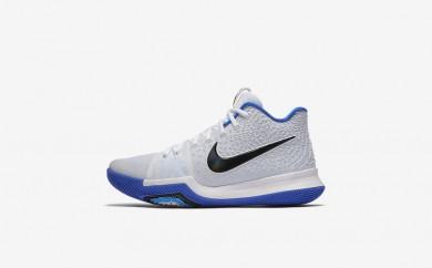 Ανδρικά αθλητικά παπούτσια Nike kyrie 3 men λευκό/hyper cobalt/μαύρο 852395-030