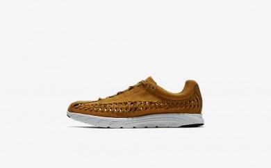 Ανδρικά αθλητικά παπούτσια Nike mayfly woven men μπρονζέ/summit white/μαύρο 833132-031