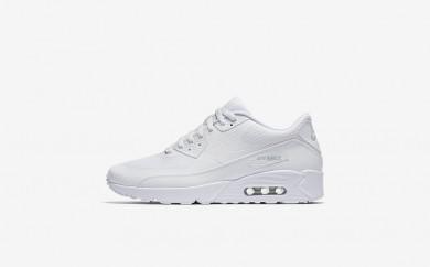 Ανδρικά αθλητικά παπούτσια Nike air max 90 ultra 2.0 men λευκό/λευκό/pure platinum/λευκό 875695-037