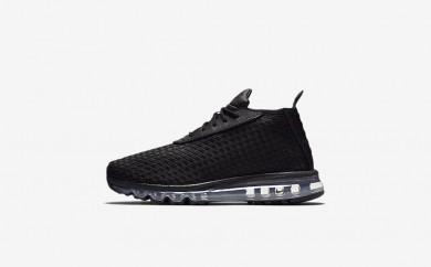 Ανδρικά αθλητικά παπούτσια Nike lab air max woven men μαύρο/μαύρο 921854-038