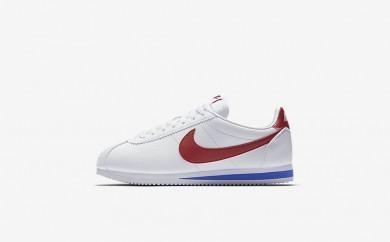 Ανδρικά αθλητικά παπούτσια Nike classic cortez men λευκό/varsity royal/varsity red 749571-039