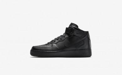 Ανδρικά αθλητικά παπούτσια Nike air force 1 mid 07 men μαύρο/μαύρο/μαύρο 315123-052