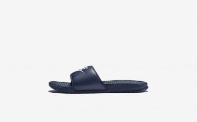 Ανδρικά αθλητικά παπούτσια Nike benassi men midnight navy/windchill 343880-054