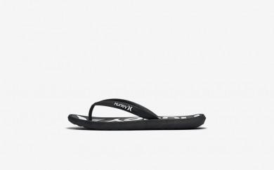 Ανδρικά αθλητικά παπούτσια Nike hurley one and only printed men μαύρο HUR153-082