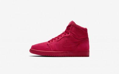 Ανδρικά αθλητικά παπούτσια Nike air jordan i retro high men gym red/gym red 332550-093