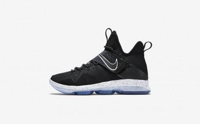 Ανδρικά αθλητικά παπούτσια Nike lebron xiv ep men μαύρο/ice/λευκό 921084-161