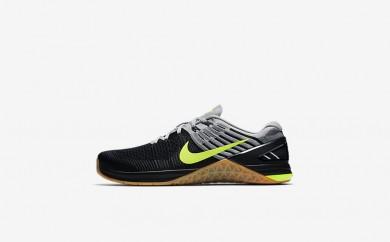 Ανδρικά αθλητικά παπούτσια Nike metcon dsx flyknit men μαύρο/wolf grey/μαύρο/volt 852930-168