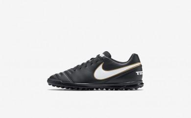 Ανδρικά αθλητικά παπούτσια Nike tiempo rio iii men μαύρο/λευκό 819237-240