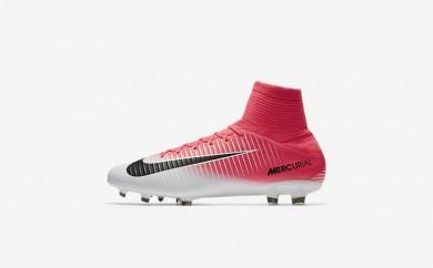 Ανδρικά αθλητικά παπούτσια Nike mercurial veloce iii fg men racer pink/λευκό/μαύρο 831961-282