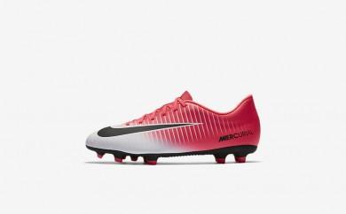 Ανδρικά αθλητικά παπούτσια Nike mercurial vortex iii fg men racer pink/λευκό/μαύρο 831969-293