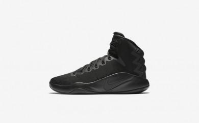 Ανδρικά αθλητικά παπούτσια Nike hyperdunk 2016 men μαύρο/volt/ανθρακί 844359-354