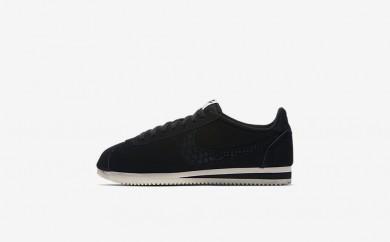 Ανδρικά αθλητικά παπούτσια Nike classic cortez leather se men μαύρο/sail/μαύρο 861535-384