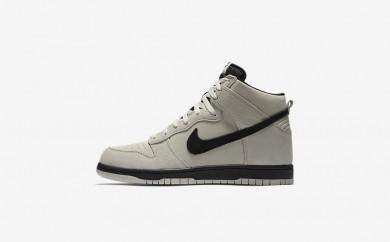 Ανδρικά αθλητικά παπούτσια Nike dunk high men light bone/μαύρο 904233-387