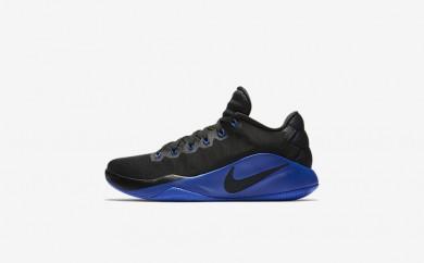 Ανδρικά αθλητικά παπούτσια Nike hyperdunk 2016 low men μαύρο/dark grey/game royal 844363-419