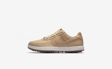 Ανδρικά αθλητικά παπούτσια Nike lunar force 1 g premium men vachetta tan/sail/gum medium brown/vachetta tan 844547-450