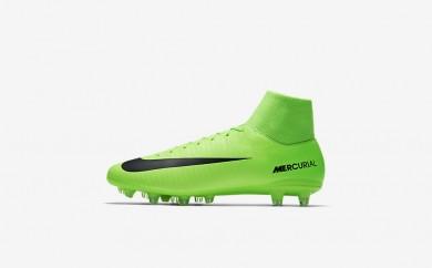 Ανδρικά αθλητικά παπούτσια Nike mercurial victory vi dynamic men electric green/flash lime/λευκό/μαύρο 903608-455