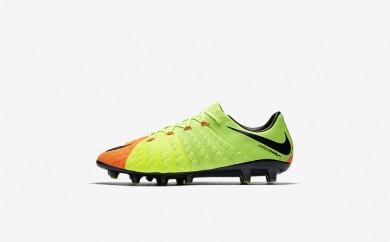 Ανδρικά αθλητικά παπούτσια Nike hypervenom phantom 3 ag-pro men electric green/hyper orange/volt/μαύρο 852566-481