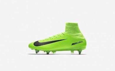 Ανδρικά αθλητικά παπούτσια Nike mercurial veloce iii sg-pro men electric green/flash lime/λευκό/μαύρο 852604-506