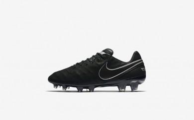 Ανδρικά αθλητικά παπούτσια Nike tiempo legend vi tech craft 2.0 fg men μαύρο/μαύρο 852539-513