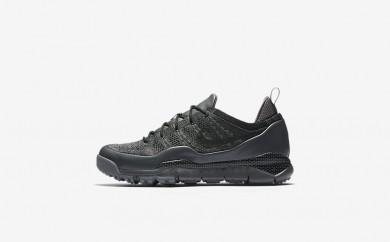 Ανδρικά αθλητικά παπούτσια Nike lupinek flyknit low men dark grey/cool grey/μαύρο 882685-521
