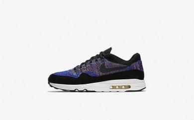 Ανδρικά αθλητικά παπούτσια Nike lab air max 1 flyknit men racer blue/vivid purple/sail/μαύρο 876319-548