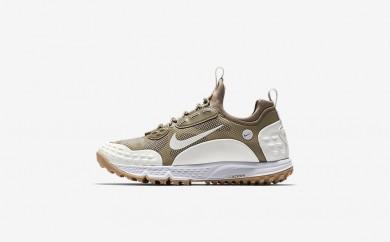 Ανδρικά αθλητικά παπούτσια Nike lab air zoom albis '16 sp men bamboo/λευκό/sail/gum light brown 904334-562