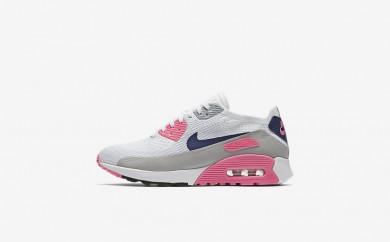 Η κα πάνινα παπούτσια Nike air max 90 ultra 2.0 women λευκό/laser pink/μαύρο/concord 881109-013