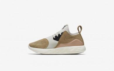 Η κα πάνινα παπούτσια Nike lunarcharge premium women mushroom/bio beige/light bone/μαύρο 923286-015