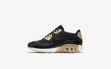 Η κα πάνινα παπούτσια Nike air max 90 ultra 2.0 flyknit women μαύρο/μαύρο 881563-020
